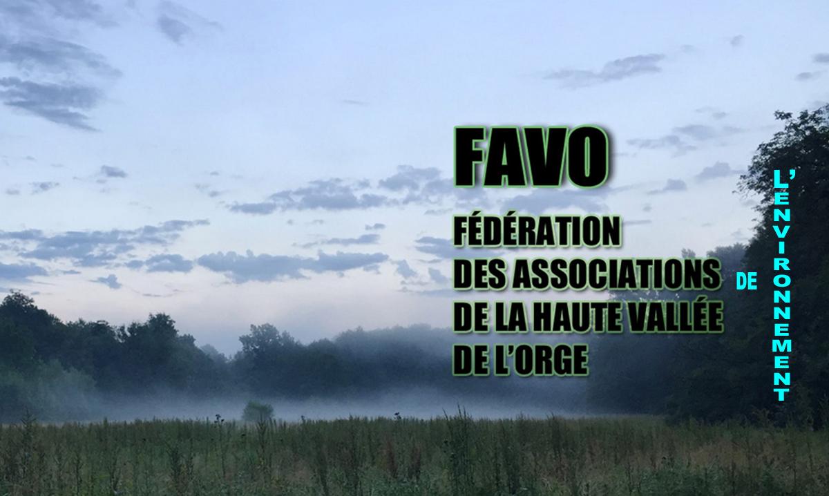 FAVO Fédération des Associations de la haute Vallée de l'Orge